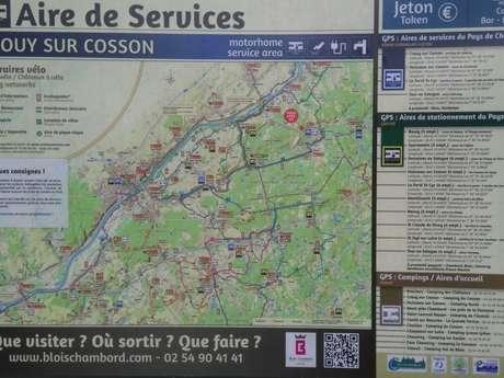 Aire de Crouy-sur-Cosson