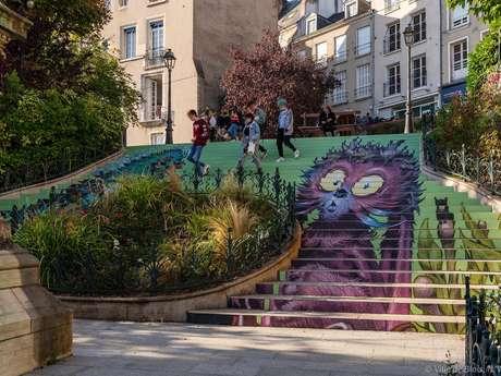 L'escalier des Monstres de Blois