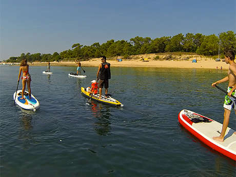 TRAVERSEE DU FIER D'ARS EN STAND UP PADDLE