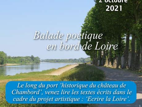 Balade poétique, écrire la Loire