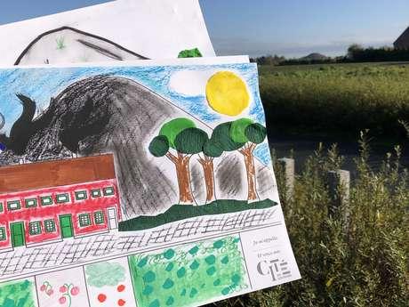 Compose ton paysage à la Cité des Électriciens