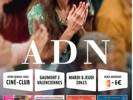 Octobre au Ciné-club Écran 2 Valenciennes