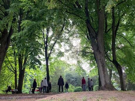 Yog'art au parc de la Rhônelle