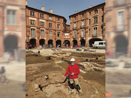 La fouille archéologique de la Place Nationale