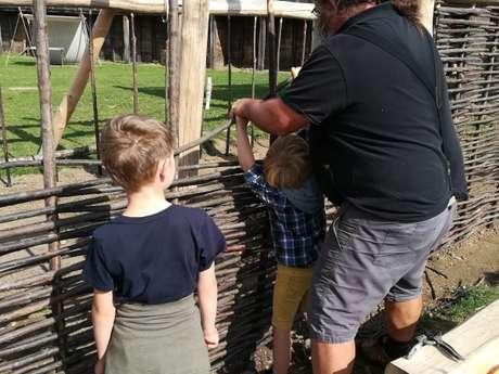 Arkéos - Les ateliers des vacances : Bâtisseurs d'un jour
