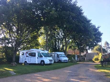Aire de camping-car du Domaine du Scorff