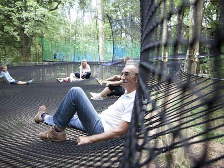 Parcours de filets suspendus - Parc d'Olhain