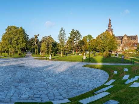 Le jardin Jacques Chirac, parc des Prix de Rome - VALENCIENNES