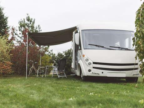 Aire de camping-car - Parc d'Olhain