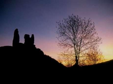 Autour du château de Montaillou