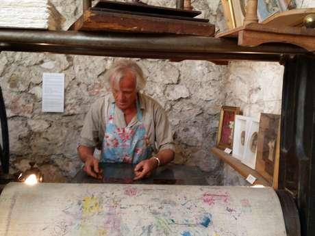 L'Atelier du Safranier - gravure