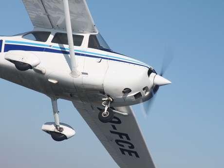 Het vliegterrein van Saint-Ghislain