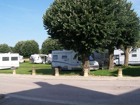 Aire de camping-cars de Chaource