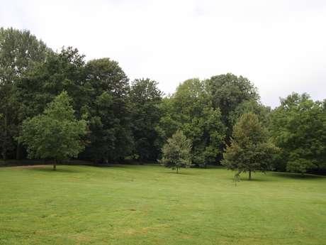 Het Kasteelpark van Boussu