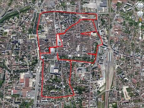 "Circuit ""Bonhomme"" GPS Drawing"