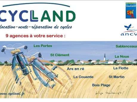 CYCLAND - SAINT-MARTIN DE RÉ