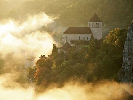 La vallée du Lot de Cahors à Saint-Cirq-Lapopie