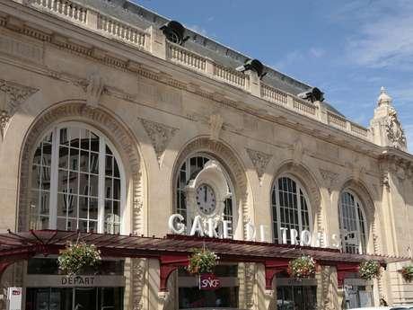 Der Bahnhof von Troyes