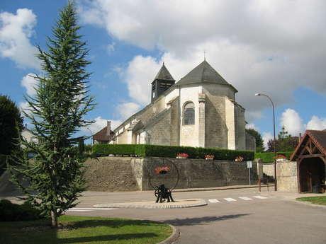 Eglise Saint Sébastien de Crésantignes