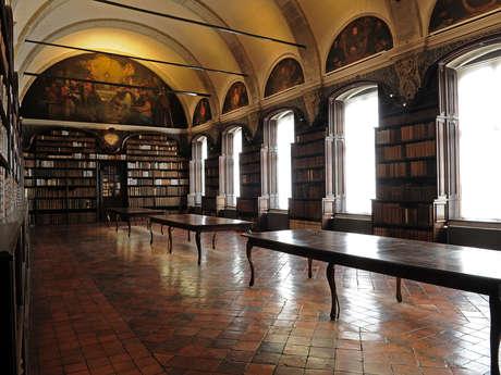 Bibliothèque et église St Nicolas - VALENCIENNES