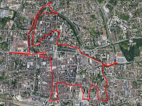 Circuit « L'Elephant » GPS Drawing