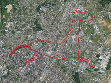 "Circuit ""Le Cheval"" GPS Drawing"
