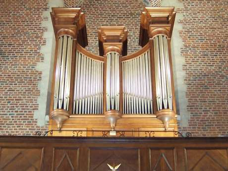Orgue de St Antoine - QUAROUBLE