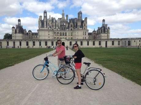 Vélos des châteaux