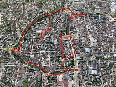 "Circuit ""Le Pingouin"" GPS Drawing"