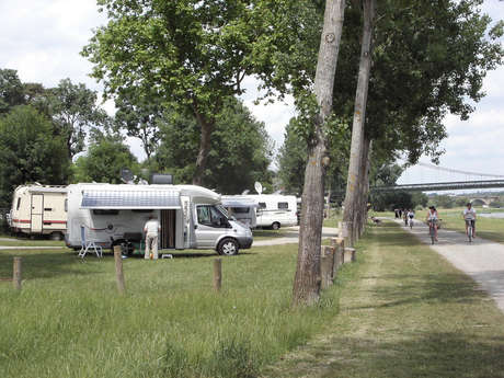 Aire d'accueil camping-car de Bouchemaine