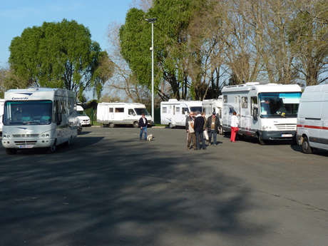 Motorhome reception area of Angers