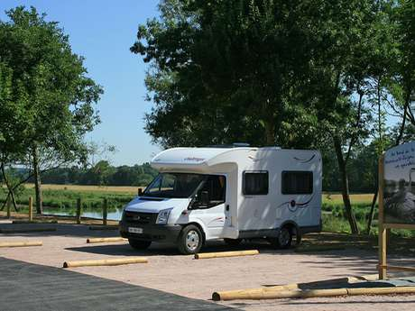 Aire d'accueil camping-car de Montreuil-Juigné