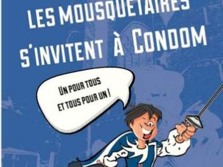 """JEU DE PISTE """"LES MOUSQUETAIRES S'INVITENT A CONDOM"""""""