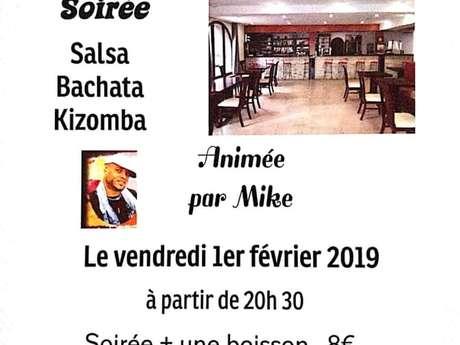 SOIRÉE SALSA, BACHATA & KIZOMBA