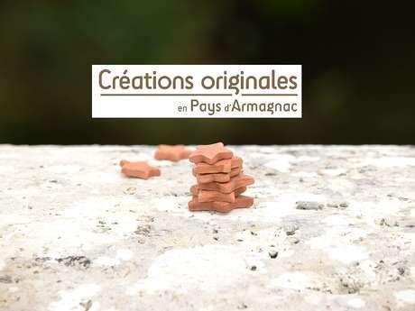 """WEEK-END SUR LES """"CHEMINS D'ART EN ARMAGNAC"""" - CRÉATIONS ORIGINALES"""