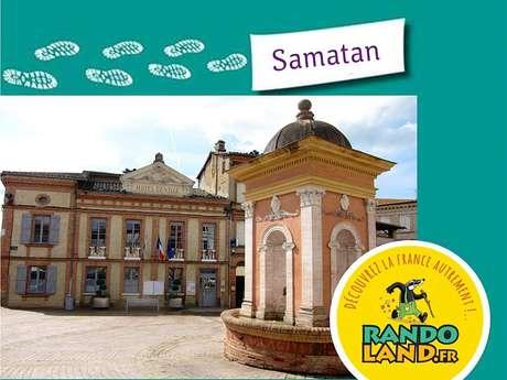 RANDOLAND : DÉCOUVERTE DU CENTRE-VILLE DE SAMATAN EN FAMILLE