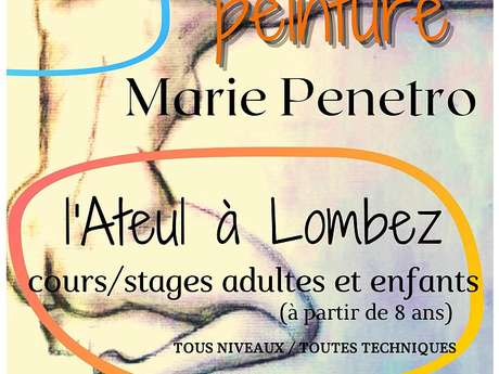 L'ATEUL - ATELIER DE PEINTURE DE MARIE PENETRO