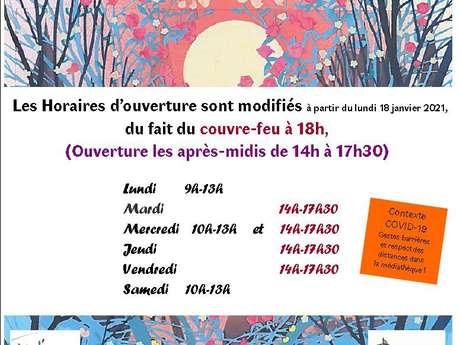MÉDIATHÈQUE DE LA HALLE AUX GRAINS