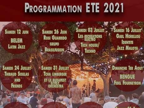 RÉCRÉATIONS MUSICALES A TOURNAN : NOUS CHRISTINE F INVITE CLAUDE SAMBLANCAT