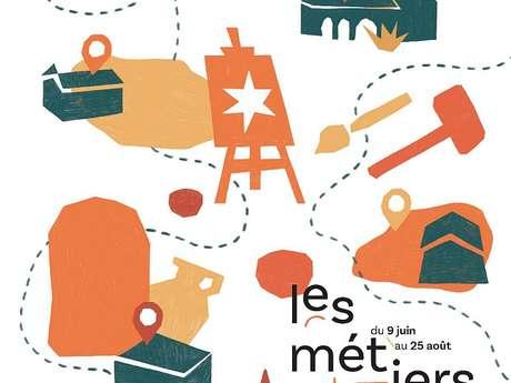 PARCOURS DE VISITE D'ATELIERS #1 « LE GESTE »