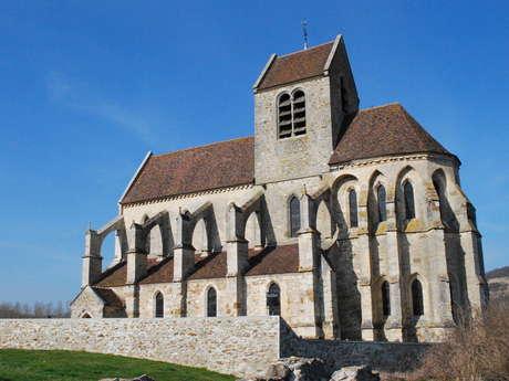 Eglise de la Nativité-de-la-Sainte-Vierge de Mézy-Moulins