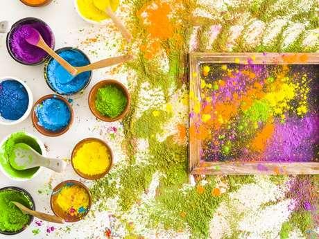 Atelier de peinture végétale