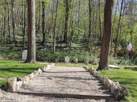 Le cimetière temporaire Grande Guerre de Vingré