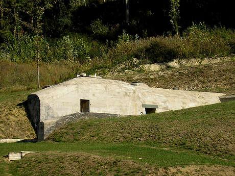 Le bunker n°2 de l'ancien camp de Margival