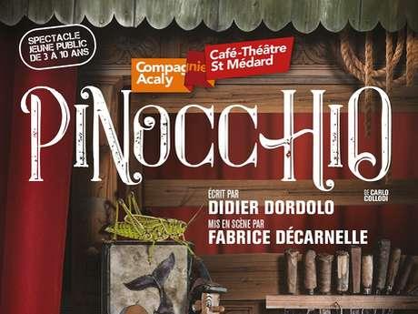Pinocchio - Café Théâtre St-Médard