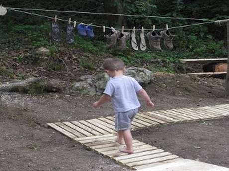 Rando pieds nus à Verneuil
