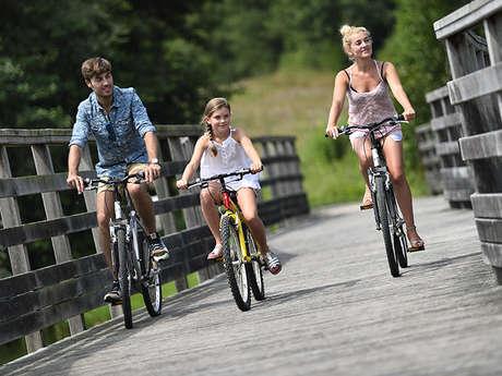 Rando à vélo à Chamouille