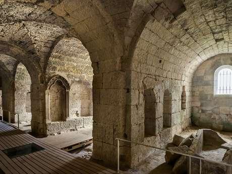 Crypte Saint-Médard : visite guidée