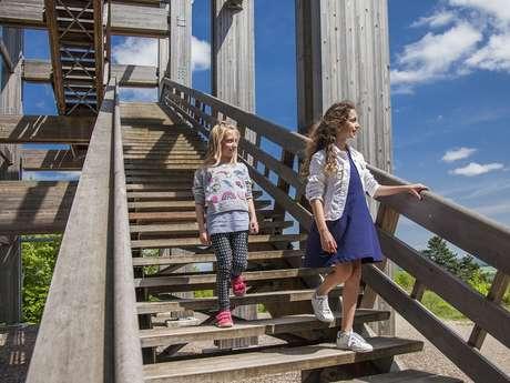 La tour-observatoire du Plateau de Californie
