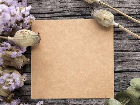 Atelier tableau de fleurs séchées